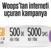 Woops'tan İnterneti Uçuran Kampanya