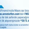 CardFinans'tan Annelutfen.com'a Özel 30 TL İndirim