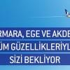 Marmara-Ege-Akdeniz'in Tüm Güzelliklerine AnadoluJet'le Uçun!