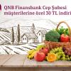Finansbank'tan Tazemasa.com'a Özel 30 TL İndirim!