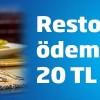 Ä°ÅŸ Bankası'ndan Restoran Ödemelerine 20 TL Maxipuan!
