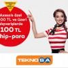 Axess'ten Teknosa.com'da 100 TL Chip-para İmkanı!