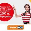 Axess Mobile Özel Teknosa.com Sitesine 100 TL Chip-para!