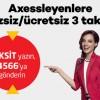 Axess'ten Ekim Ayı İçerisinde Yapılan Alışverişlerde Ekstra 3 Taksit!