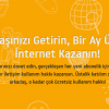 Turknet'ten Arkadaşınızı Getirin, Bir Ay Ücretsiz İnternet Kazanın!