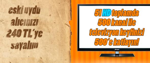 D smart ile yeni 500 kanal