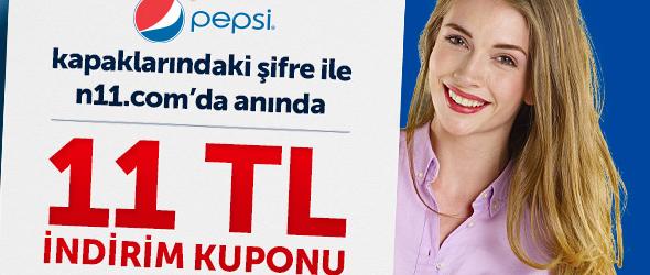 Pepsi Kapaklarında