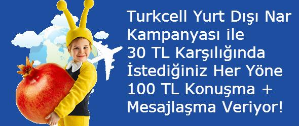 Turkcell Yurtdışı Nar