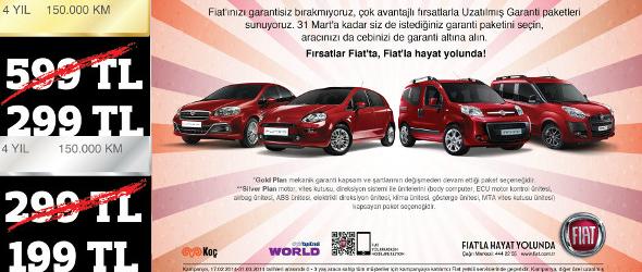 Fiat Garanti Uzatma Kampanyası Kampanya Bulucu