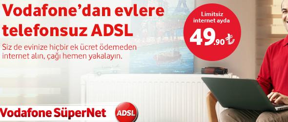 Vodafone Telefonsuz ADSL