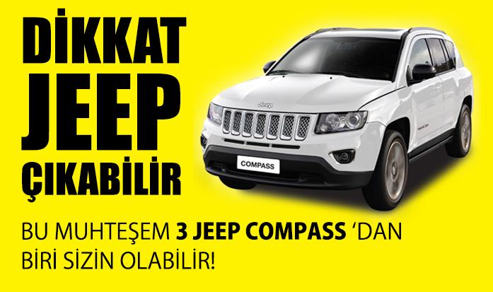 Şahin Sucuk Jeep Çekiliş Kampanyası