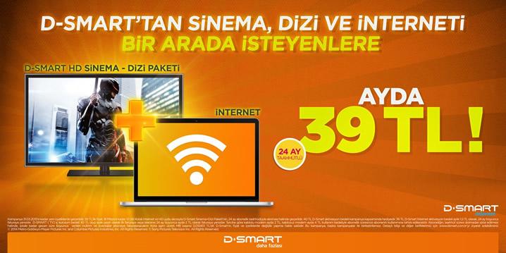 D-Smart Sinema, Dizi ve İnternet