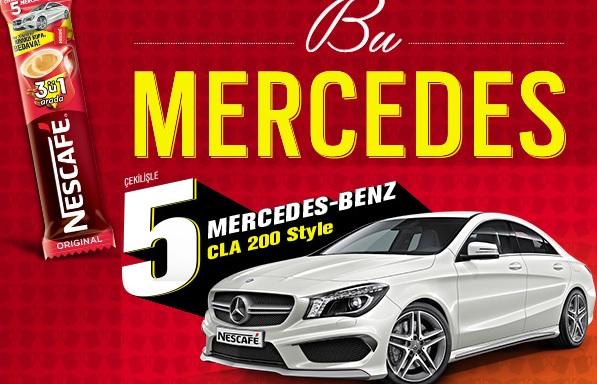 Nescafe Mercedes Çekilişi