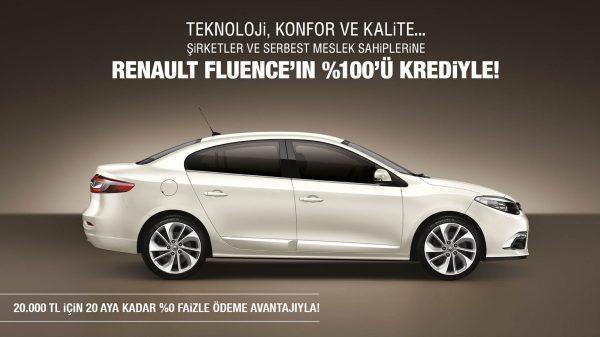 Renault Fluence Kampanyası