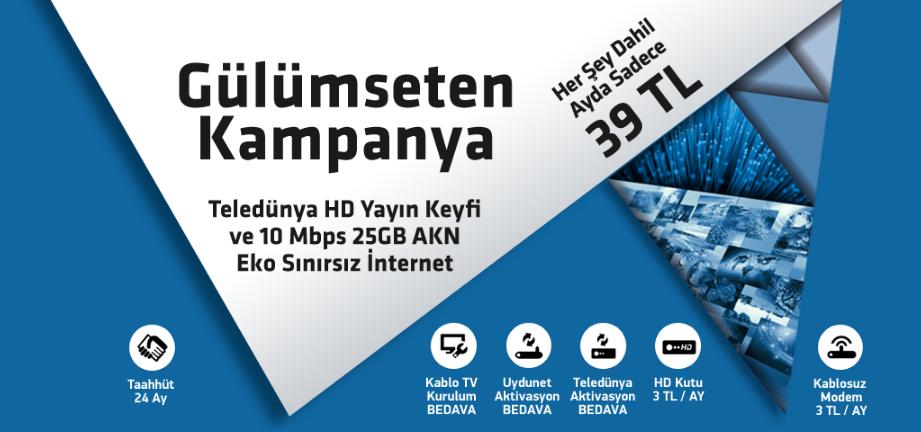 Türksat Kablo Gülümseten Kampanya