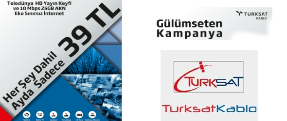 Türksat Kablo Her Şey dahil