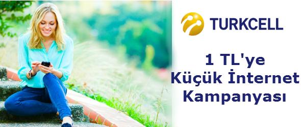 Turkcell Küçük internet Pak3eti
