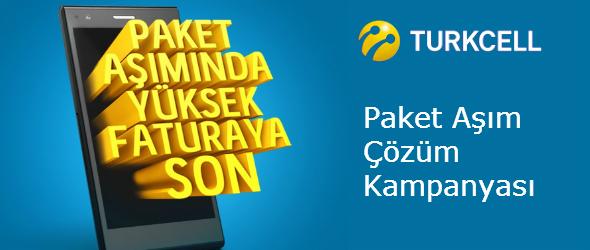 Turkcell Paket Aşım Çözüm Kampanyası