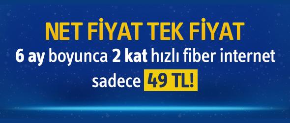 Turkcell Superonline 2 kat hızlı Fiber İnternet