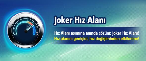 Turkcell Superonline Joker Hız Alanı