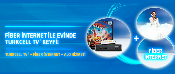 Turkcell Superonline ile EvdeTurkcell TV Keyfi