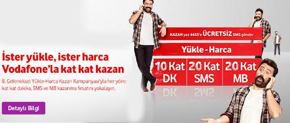 Vodafone Yükle Harca