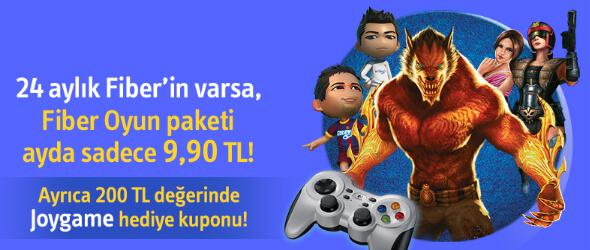 Turkcell Superonline Fiber Oyun Kampanyası