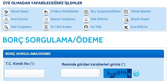 türk telekom ev telefonu borç öğrenme2