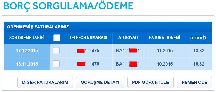 türk telekom ev telefonu borç öğrenme3