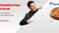 Vodafone SüperNet Dominos İndirim Kampanyası