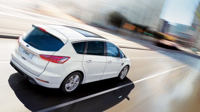 Ford S-Max 2016 Arka