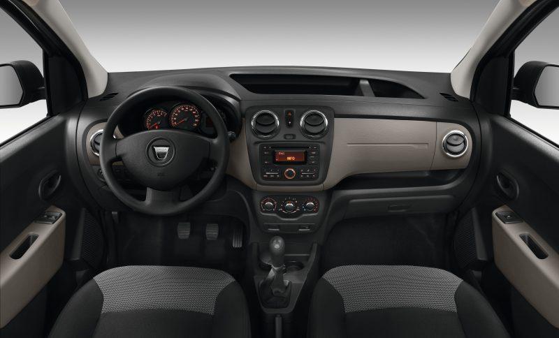 Dacia Dokker 2016 iç mekan