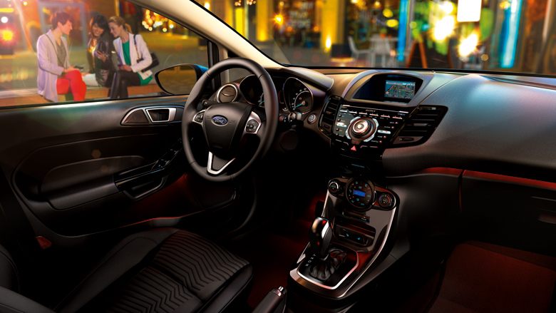 Ford Fiesta 2016 iç mekan