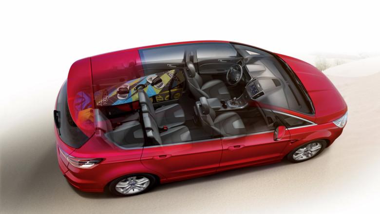 Ford S-Max 2016 iç