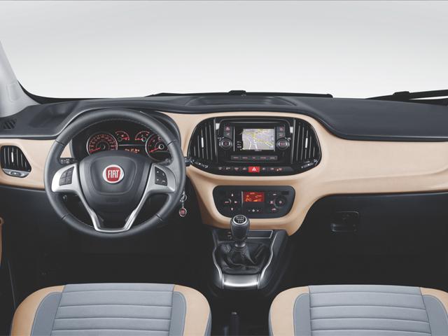 Fiat 2016 Doblo İç tasarımı