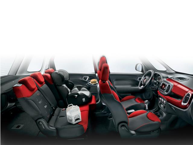 Fiat 500L iç tasarım