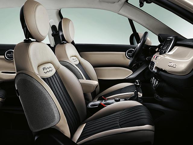Fiat 500X iç tasarım
