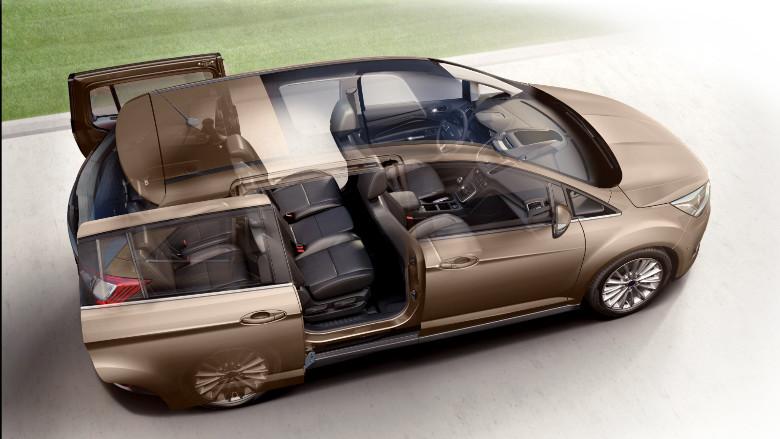 Ford Grand C-Max İç