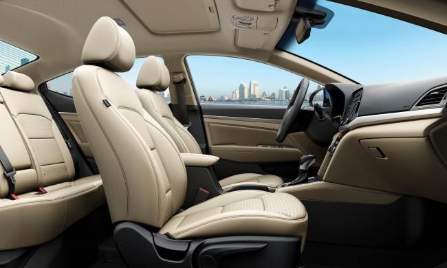 Hyundai elantra iç tasarımı