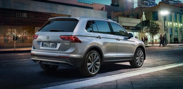 Volkswagen Tiguan teknik özellikleri