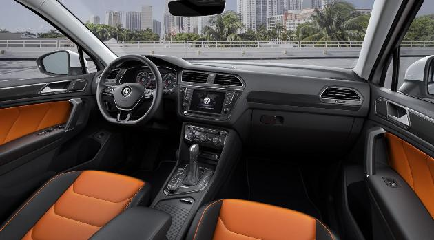 Volkswagen Tiguan iç tasarım