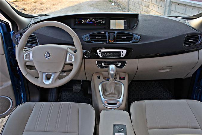 Renault Scenic iç tasarım