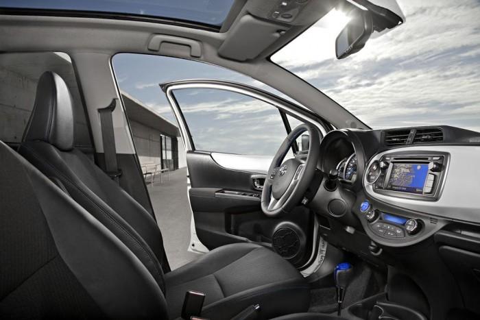 Toyota Yaris iç tasarım