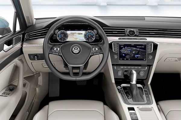 Volkswagen Passat iç tasarım