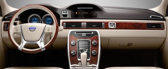 Volvo S80 iç tasarım