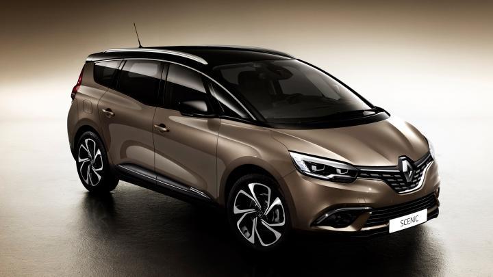 Renault Scenic teknik özellikleri