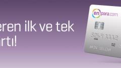 Aidat almadığı gibi size aidat veren ilk ve tek kredi kartı! Enpara.com