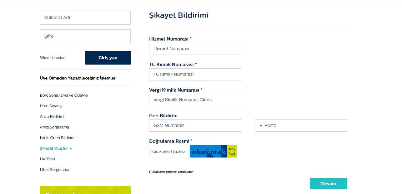 Türk Telekom Nereye Şikayet Edilir?