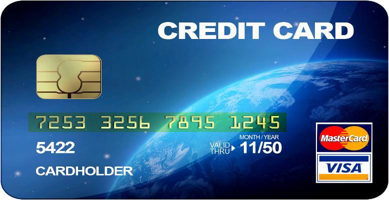 kredi kartı ön yüzü