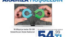 Kablonet 2019 – Aramıza Hoş geldin Kampanyası